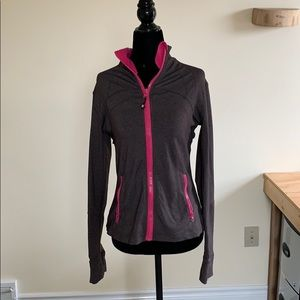 Brown and Pink lululemon jacket